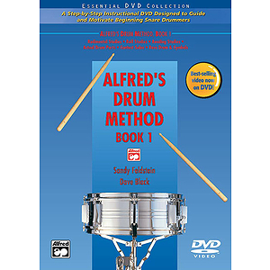 Alfred&#039;s Drum Method, Book 1 - DVD