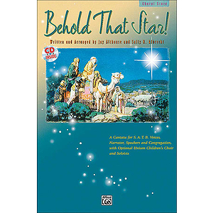 Behold That Star! - Preview Pack (SATB Choral Score and Listening CD)