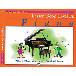 Alfred's Basic Piano Course - Lesson Book - Level 1A