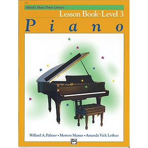 Alfred's Basic Piano Course - Lesson Book - Level 3