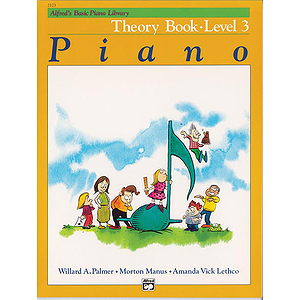 Alfred's Basic Piano Course - Theory Book Level 3