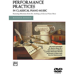 Performance Practices in Classical Piano Music DVD