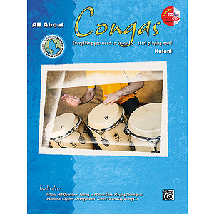 All About Congas (Book and Enhanced CD)