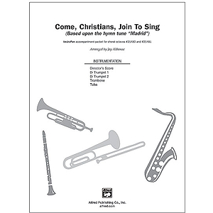 Come, Christians, Join To Sing - InstruPax