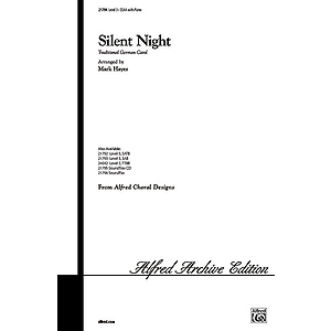 Silent Night - SSAA