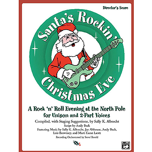 Santa's Rockin' Christmas Eve - Student Pack (5 Singer's Editions)