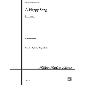 Happy Song, A - 2-3 Octaves