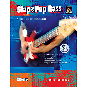 Slap &amp; Pop Bass - Book/CD