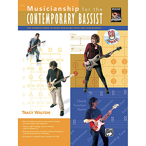 Musicianship for The Contemporary Bassist - Book & CD