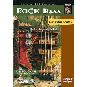 Rock Bass for Beginners - DVD