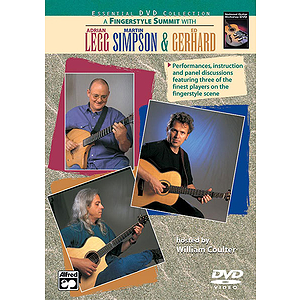 A Fingerstyle Summit with Adrian Legg, Martin Simpson &amp; Ed Gerhard - DVD