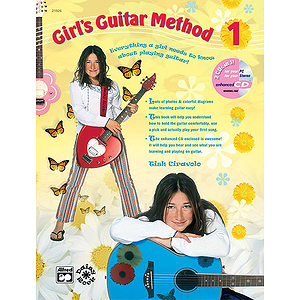 Girl&#039;s Guitar Method 1 - Book &amp; Enhanced CD