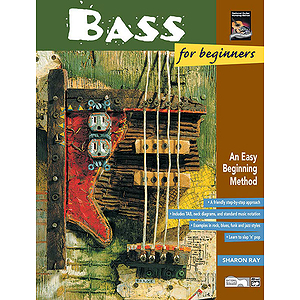 Bass for Beginners & Rock Bass for Beginners - Book & DVD