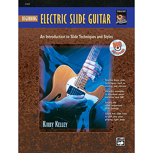 Beginning Electric Slide Guitar - Book & DVD