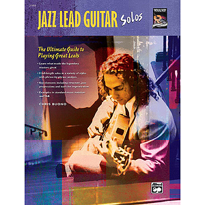 Jazz Lead Guitar Solos - Book & CD
