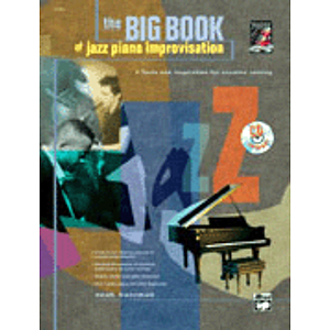 Big Book of Jazz Piano Improvisation - Book & CD
