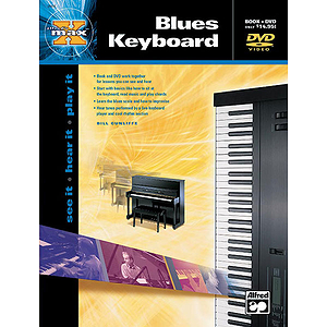 Alfred's Max! Blues Keyboard - Book & DVD