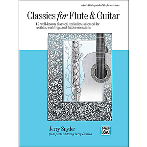 Classics for Flute and Guitar - Book