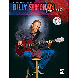 Billy Sheehan - Basic Bass - Book & DVD