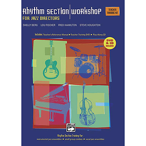 Rhythm Section Workshop for Jazz Directors - Teacher's Training Kit (Manual, DVD & CD)