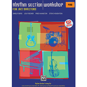 Rhythm Section Workshop for Jazz Directors - Piano - Book & CD