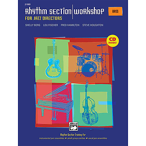 Rhythm Section Workshop for Jazz Directors - Bass - Book & CD