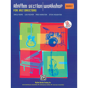 Rhythm Section Workshop for Jazz Directors - Drums - Book & CD