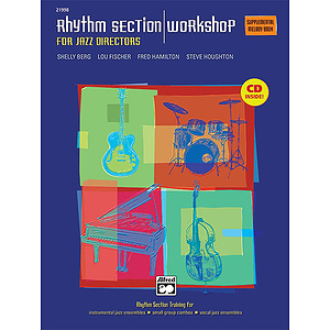Rhythm Section Workshop for Jazz Directors - Supplemental Melody Book - Book & CD