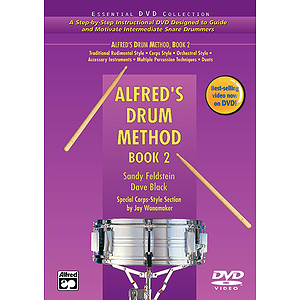 Alfred's Drum Method, Book 2 - DVD