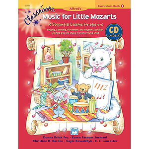 Classroom Music for Little Mozarts - Curriculum Book and CD