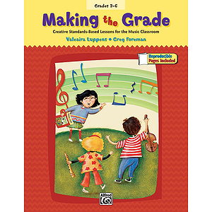 Making the Grade - Book (Includes Reproducible Student Pages)