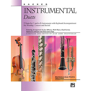 Sacred Instrumental Duets - Book