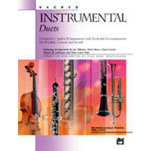 Sacred Instrumental Duets - Accompaniment/Performance CD