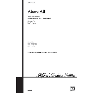 Above All - SAB