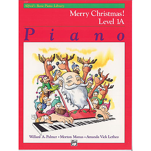 Alfred's Basic Piano Course - Merry Christmas! Book - Level 1A