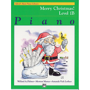 Alfred's Basic Piano Course - Merry Christmas! Book - Level 1B