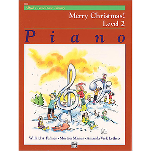 Alfred's Basic Piano Course - Merry Christmas! Book - Level 2