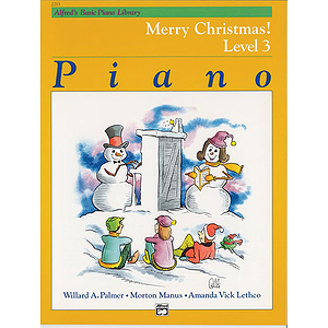 Alfred's Basic Piano Course - Merry Christmas! Book - Level 3