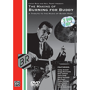 Buddy Rich - The Making of Burning for Buddy (DVD)