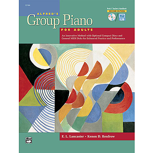 Alfred's Group Piano for Adults Book 1 (2Nd Edition) - Teacher's Handbook