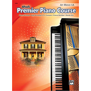 Alfred's Premier Piano Course - At-Home Book Level 1 A