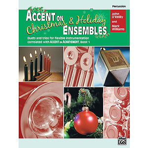 Accent on Christmas and Holiday Ensembles: Percussion