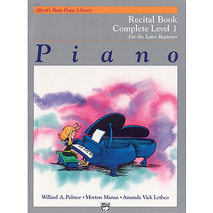 Alfred's Basic Piano Course - Recital Book Complete Level 1