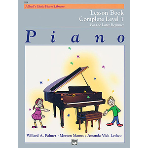 Alfred's Basic Piano Course - Lesson Book - Complete Level 1