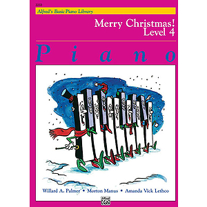 Alfred's Basic Piano Course - Merry Christmas! Book - Level 4
