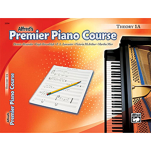 Alfred's Premier Piano Course - Level 1A (Theory Book)