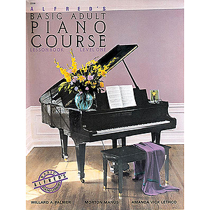 Alfred&#039;s Basic Adult Piano Course - Lesson Book Level 1, Book Only