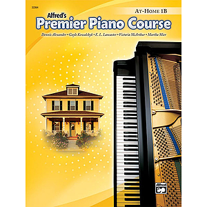 Alfred's Premier Piano Course - At-Home Book Level 1 B