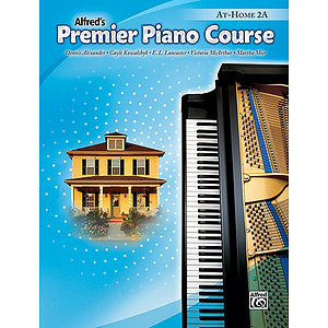 Alfred's Premier Piano Course - At Home 2A