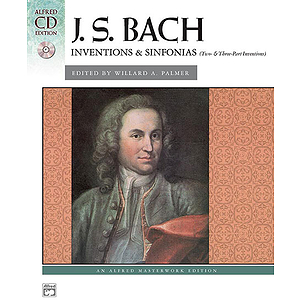 Bach - Inventions & Sinfonias Book & CD